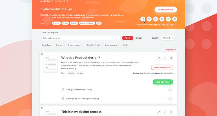 Meribook - A re-imagined documentation and distribution platform